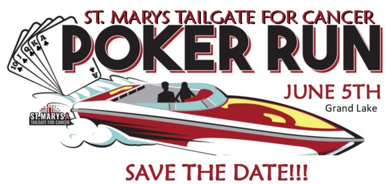 St. Marys Tailgate for Cancer Poker Run